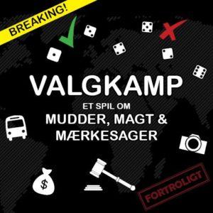 Vagkamp er et hurtigt satirisk terningespil om dansk politik