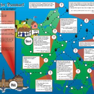 Brætspillet 'Kampen om Danmark' er et satirisk take på den højre drejning som er foregået over en årrække på flygtninge- og integrationsområdet.