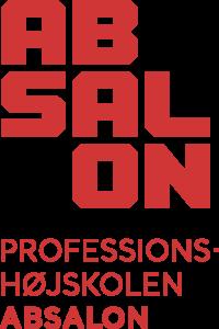Logo for Professionshøjskolen Absalon