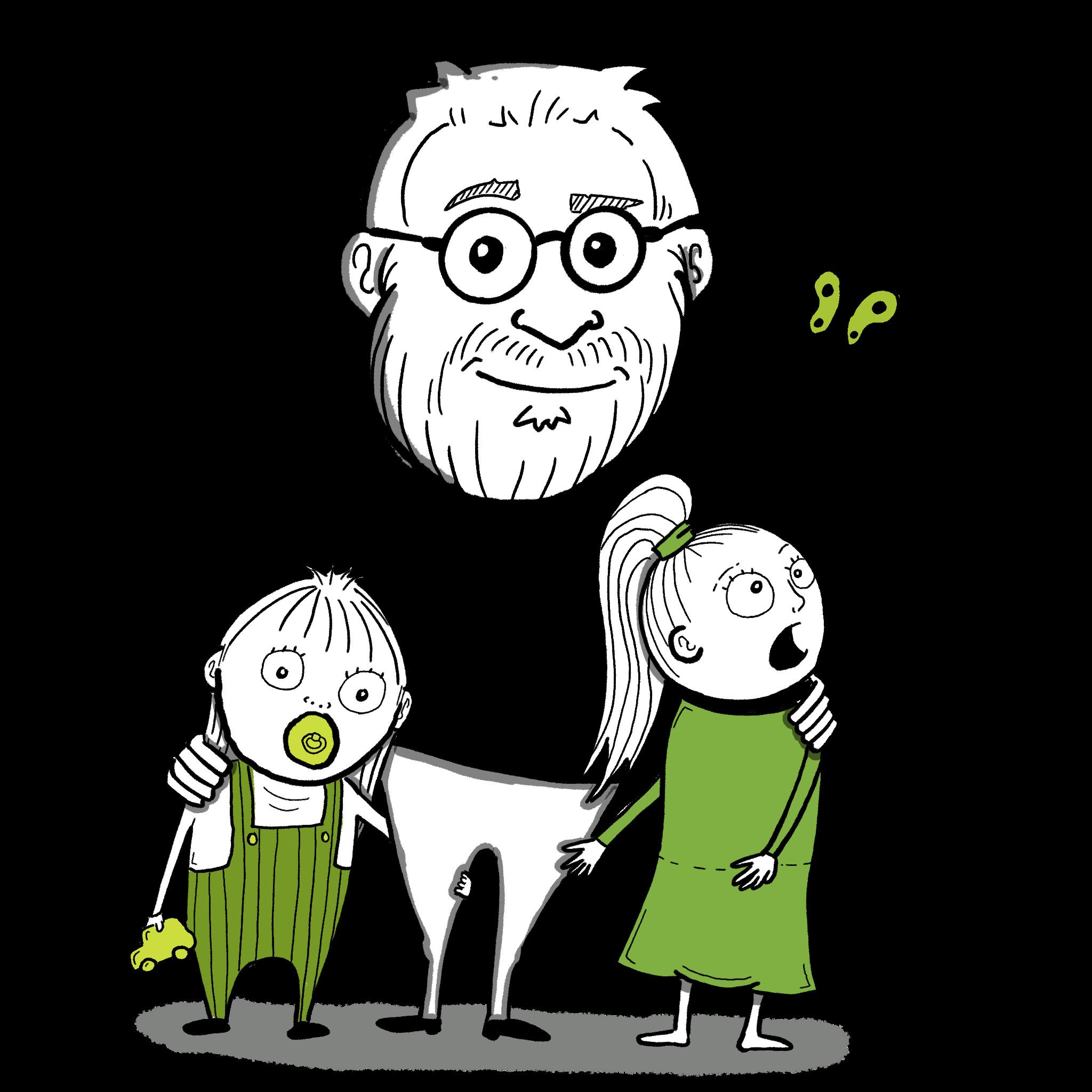 Mig og mine to døtre